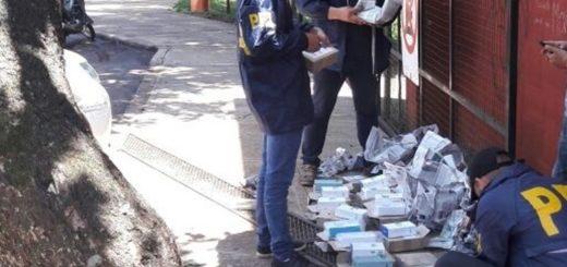 La Federal de Eldorado decomisó contrabando en distintos procedimientos