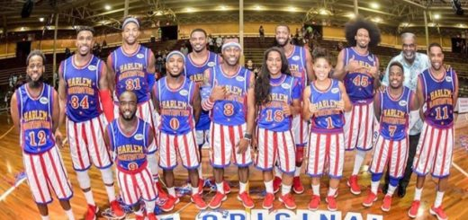 ¿Será el nuevo Jordan en miniatura?: La nueva estrella de los Harlem Globertrotters mide menos de 1,50