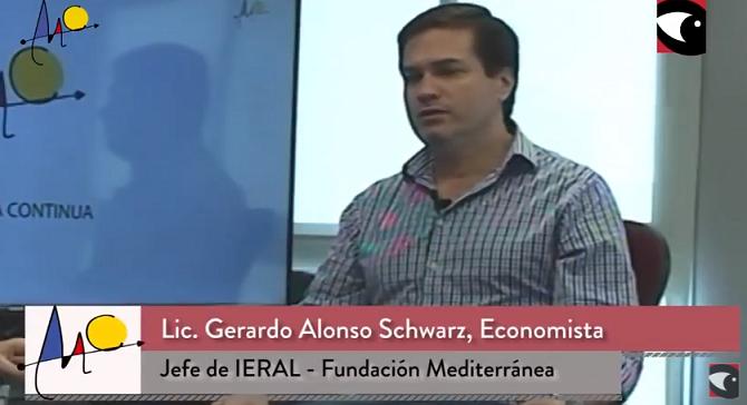 La economía que se viene en la perspectiva del economista de la Fundación Mediterránea
