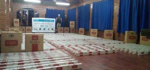 Prefectura secuestró más de un millón de pesos en mercadería ilegal en Iguazú, Montecarlo y Eldorado