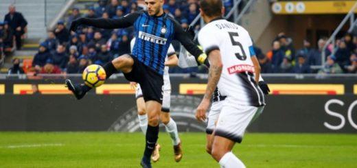 El Inter perdió ante el Udinese