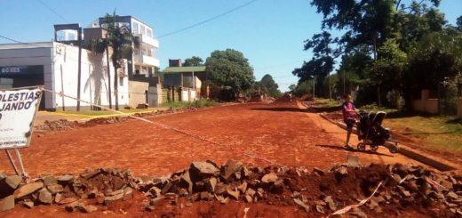 Vialidad invierte en infraestructura urbana en Posadas