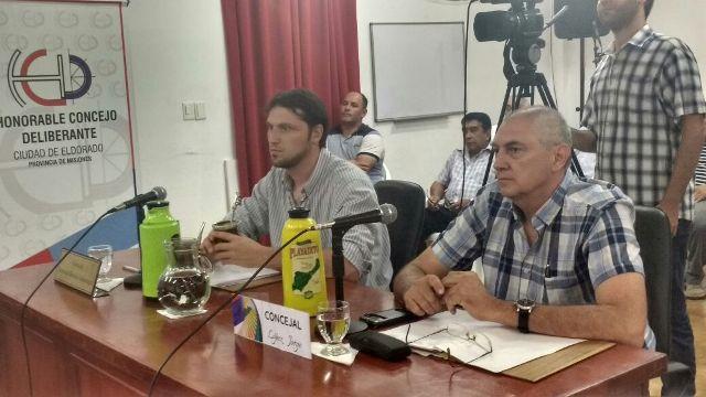 Eldorado: asumieron nuevos secretarios en el Concejo