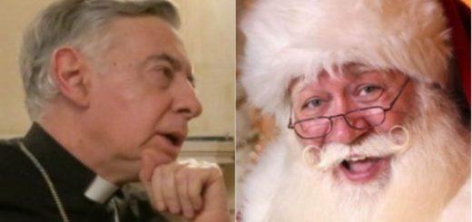 """El arzobispo de La Plata contra Papá Noel: """"no nos pueden birlar la realidad histórica"""""""