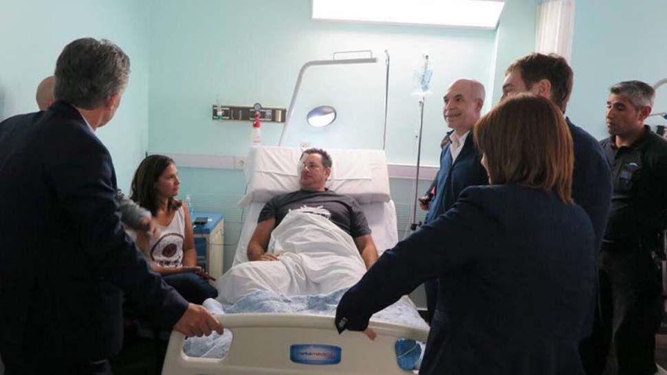 Protesta en el Congreso: según la madre de uno de los oficiales heridos, fue atacado por sus propios compañeros al estar de civil
