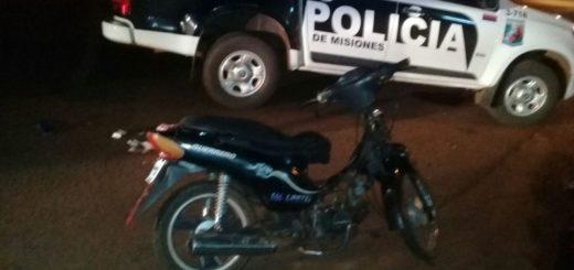 """Atraparon a un """"motodealer"""" sobre la avenida Cocomarola de Posadas"""