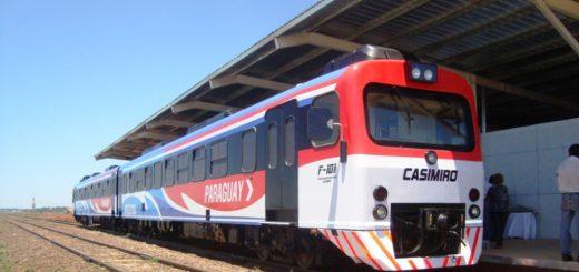 Ya funciona el tren internacional que une Posadas y Encarnación