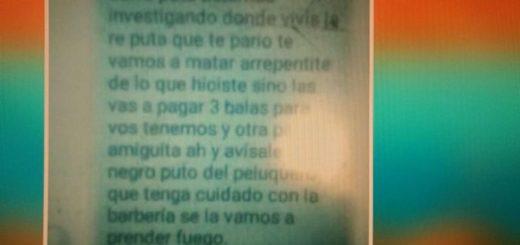"""Una de las mujeres que denunció a Cardona y Barrios fue amenazada: """"Tenemos tres balas para vos"""""""