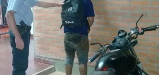 25 de Mayo: robó y en plena fuga chocó a una moto