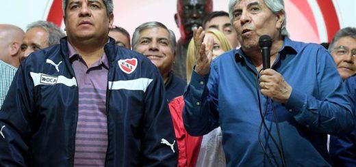 Hugo y Pablo Moyano fueron imputados por presunto fraude contra Independiente