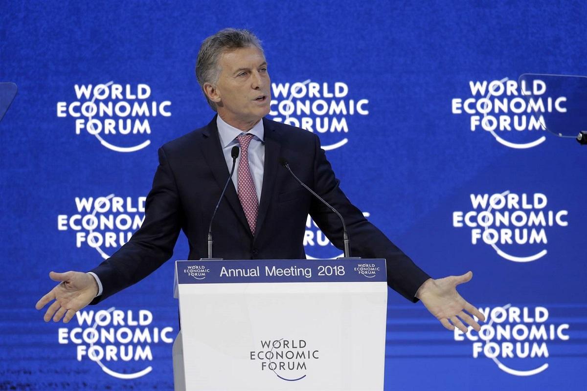 Macri en Davos: «La Argentina entró en una nueva fase y pude cumplir un papel significativo»