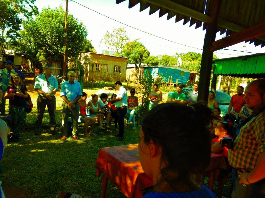 Resuelven problemas en el suministro de agua de unas 420 familias de la Chacra N°252 de Posadas