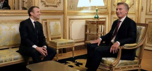 """Macri le pidió a Emmanuel Macron acelerar el acuerdo UE-Mercosur: """"Sería una enorme oportunidad"""""""
