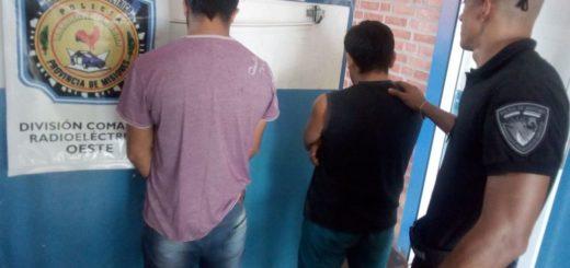Llevaban cocaína e intentaron evitar el arresto ofreciendo una coima