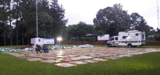 Secuestraron más de cuatro toneladas de marihuana en Wanda
