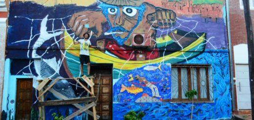 Murales y ferias: La Bajada Vieja rebosante de actividades culturales y comunitarias
