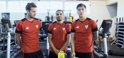 Jugadores argentinos del Sevilla te enseñan cómo preparar un buen mate