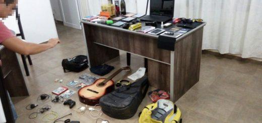 San Ignacio: atraparon a ladrón cuando ocultaba objetos robados en Club del Río