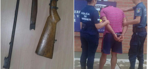 Amenazó a su mujer con una escopeta y fue detenido en El Soberbio