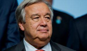 La ONU emitió un alerta roja por la unidad global en 2018 ante los conflictos por armas nucleares, derechos humanos y cambio climático