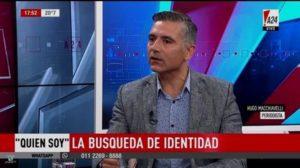 Buscador de verdad: El periodista Hugo Macchiavelli conmueve tras su investigación más difícil, descubrir su propia historia de adopción