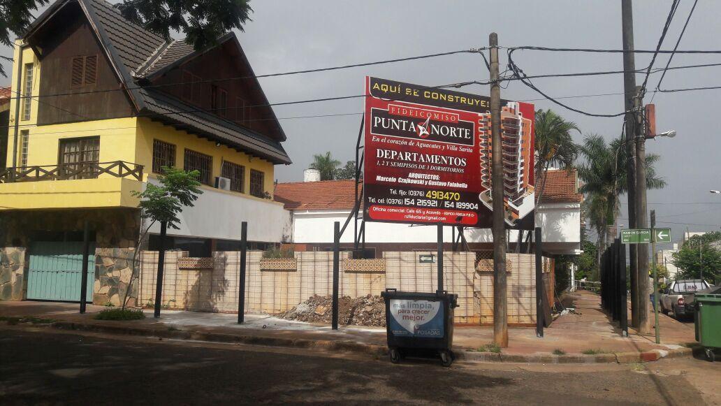 Polémica en Villa Sarita por la construcción de un nuevo edificio