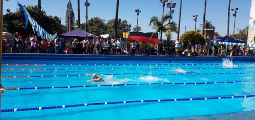 Natación: se pone en marcha el torneo Interclubes con nadadores de toda la provincia