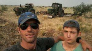 Intentando apagar un incendio rural, dos  hermanos murieron en un campo de La Pampa