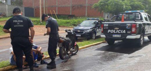 Motociclista vio un móvil y para evitar a la Policía cruzó semáforos en rojo y hasta circuló en contra mano
