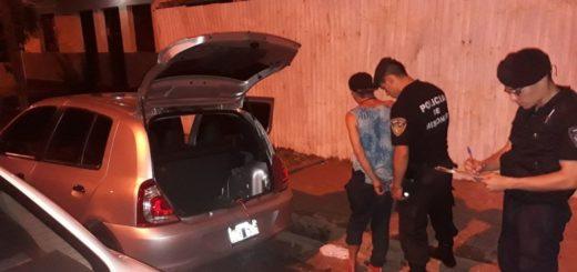 Iba a robar el equipo musical de un auto y lo detectó una patrulla: terminó preso