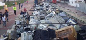 ONU advierte del aumento de basura electrónica y la falta de legislación en países de la región para la gestión de recolección y reciclaje