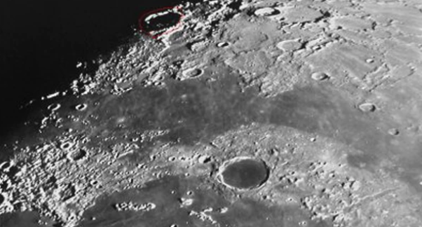 La NASA descubrió una red de pasadizos subterráneos de hielo en la Luna