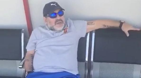 Nuevo y polémico audio de Diego Maradona