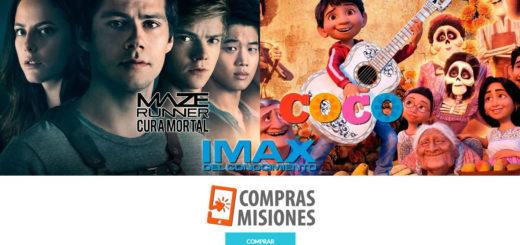 """La magia de Coco regresa al IMAX que comparte cartelera con """"Maze Runner: La cura mortal"""". Compras Misiones te vende las entradas"""