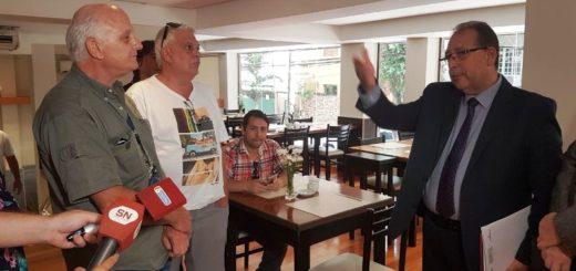 Comerciantes de Posadas se manifestaron en contra de agilizar el paso y piden más seguridad