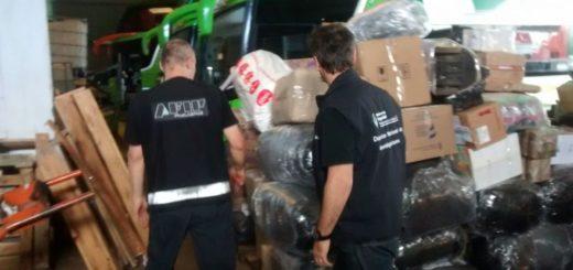 Decomisaron más de 800.000 pesos en productos de contrabando en Posadas