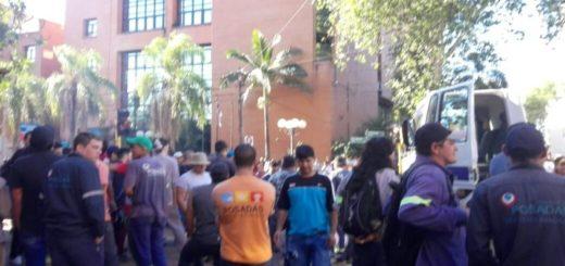 Desde la Municipalidad de Posadas aseguran que la medida de fuerza de hoy es ilegal y que accionarán penalmente