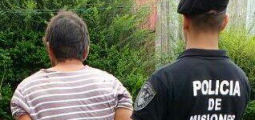 San Vicente: venció su prohibición de acercamiento y aprovechó para amenazar nuevamente a su ex pareja, pero fue detenido