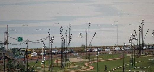 Vivo: así está la fila de autos para cruzar a Encarnación