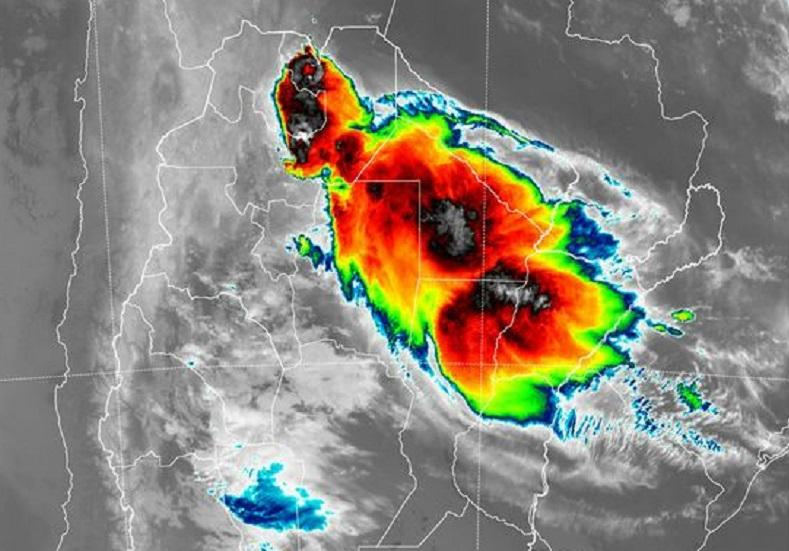 Continúa el aviso por lluvias y tormentas en Misiones hasta esta noche