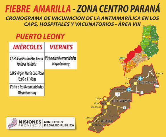 Fiebre amarilla: Salud Pública recuerda centros de vacunación, quiénes no deben vacunarse y medidas preventivas
