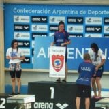 Natación: Astrid Olmedo ganó la final de los 50 metros espalda del Campeonato de la República