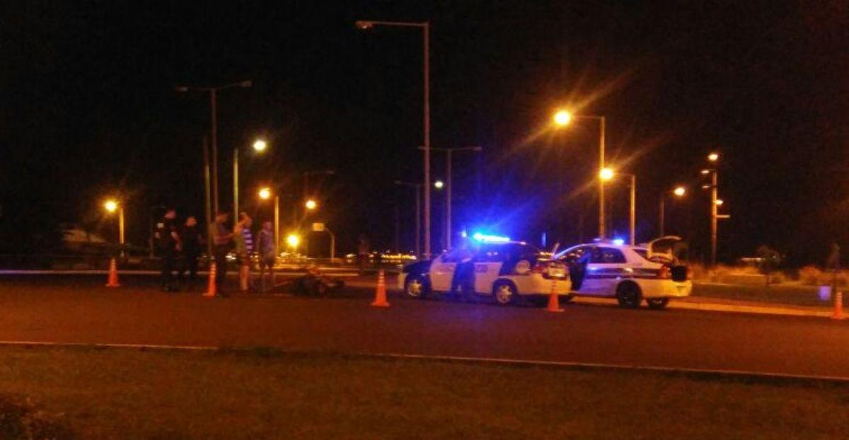 Huyeron después de un choque que había dejado a una chica herida, pero la Policía los ubicó y los detuvo