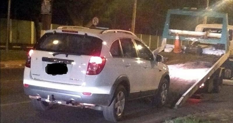 Detuvieron una camioneta argentina con más de 300 multas de tránsito en Foz de Iguazú