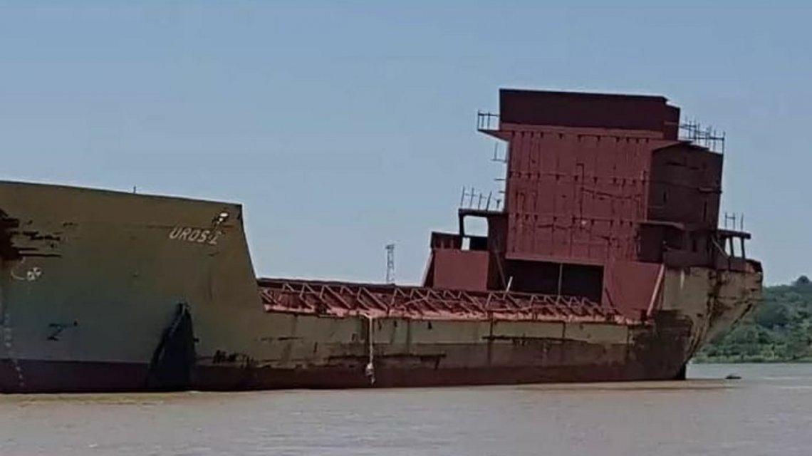 El supuesto barco fantasma que conmocionó a todo Corrientes y que navegó 58 kilómetros
