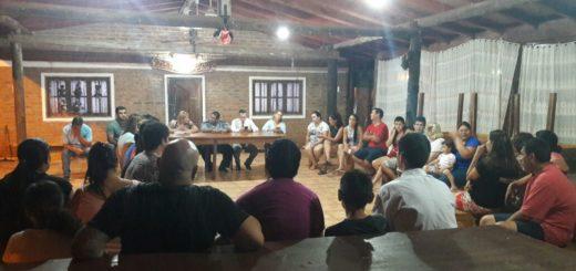 Reunión del Foro de Seguridad en el barrio Pratt de Posadas