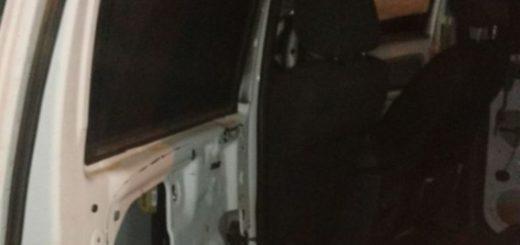 Detectan en El Soberbio una camioneta robada que estaba acondicionada para el tráfico ilegal