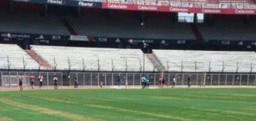 El insólito error que quemó el césped del Monumental y desató la bronca de Marcelo Gallardo