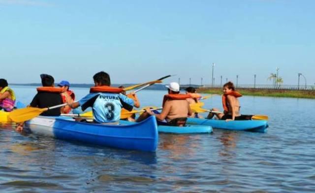 Está abierta la escuela de canotaje en el club náutico León Seró