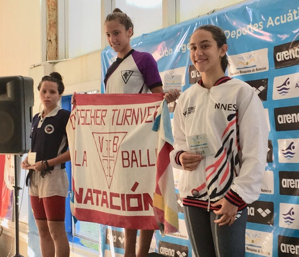 Natación: Apareció la primera medalla de Misiones en el campeonato de la República de Neuquén